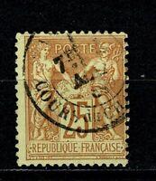 FRANCE 1879 Type SAGE   YT n° 92 Oblitéré / Used
