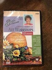 NEW Weber Art SUSAN SCHEEWE Watercolor & Acrylic 3 DVD SET SERIES 12A 13 EPISODE