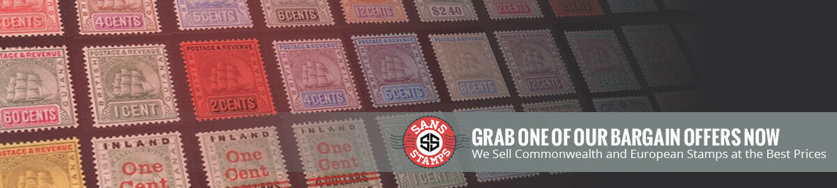 Sans Commonwealth & European stamps