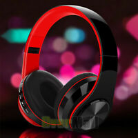 Wireless 3.5mm Gaming Headset Stereo LED For PS4 XBOX One Headphone Microphone
