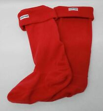 Cazador señoras militares Rojo Original Tall Boot calentar los trazadores de líneas Calcetín Talla M