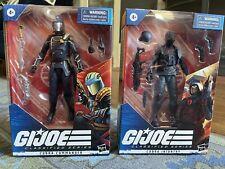 gijoe classified cobra commander and infantry trooper