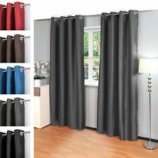 klassische gardinen vorh nge mit senaufh ngung ebay. Black Bedroom Furniture Sets. Home Design Ideas