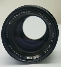 Vintage Soligor TELE-AUTO 135mm f2.8 Lens Pre Owned