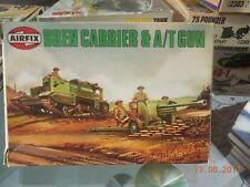 Airfix Model Kit-BREN CARRIER & A/T GUN-H0/00 - 61309-9 Series 1