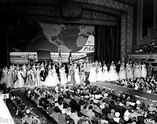 1st  Miss Universe Pageant Long Beach Municipal Auditorium 8 x 10  Photograph