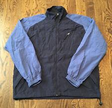 Vintage Polo Sport Jacket Ralph Lauren Large Blue Windbreaker