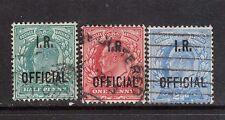 Great Britain #O19 - #O21 VF Used Trio