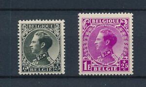 [B93] N°390+92** - S.M. Le Roi Léopold - La Série Complète Cat. Valeur 95€