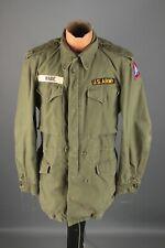 Vtg Men's 1954 Korean War US Army M-51 Field Jacket Sz Medium 50s #7421