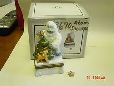 Phb Midwest Rudolph Movie Abominable Snowman & Rudolph Trinket Box W/ Star Trink