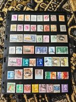 British Colonies - Hong Kong Stamp Collection - Used - Classics - 2 Scans - A49