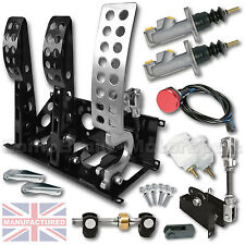 UNIVERSAL PEDAL BOX  FLOOR MOUNTED BIAS CABLE CLUTCH PEDAL BOX + KIT