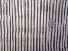 BABY FLANNEL F700-8 Brown Stripe Alpine Fabrics 1/2 YARD