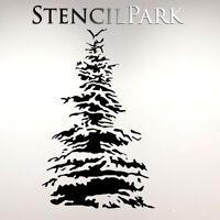 Christmas Tree Decor Reusable Craft Stencil Walls Furniture A5 A4 A3 154