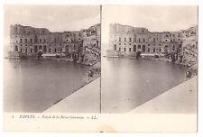 ITALIE - NAPLES - PALAIS DE LA REINE GIOVANNA - Stereoview