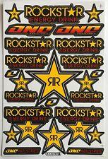 22 Pegatinas Rockstar Energy Drink la suciedad Pit Bike Mtb Motocross Casco BMX Quad