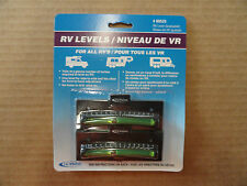 RV/Camper/Trailer - Levels for all RV's, 2 pack, Stick On or Screw On