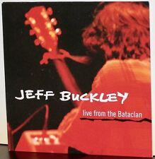 COLUMBIA PROMO CD SAMPCD-2746: JEFF BUCKLEY - Live From the Bataclan - 1995 UK