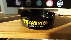 Theakston Traditional Ales Glass Ashtray c 1970's No Chips /Marks