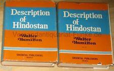 Hamilton Description of Hindostan Adjacent Countries 2 Bände 1820 1971 Indien