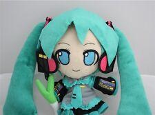 Vocaloid Hatsune Miku Anime Cartoon Stuffed Figure Plush Doll Toy Gift 10 inch