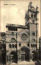 GENUA GENOVA Italien um 1920 Kirche Chiesa LORENZO Cartolina Italiana Italy