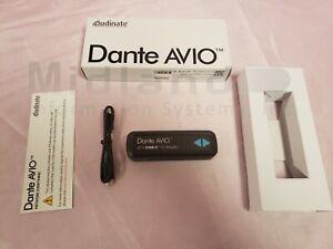 Dante Avio 2CH USB-C I/O adapter