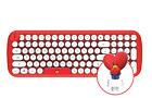 BT21 Retro Wireless Computer Keyboard Official LINE FREINDS X BTS Goods