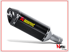 AKRAPOVIC TERMINALE SCARICO EXHAUST SLIP-ON SUZUKI GSX-R 1000 S-S10SO8-HRC
