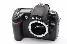 Nikon D D70s 6.1 MP Digital SLR Camera - Black (Body Only) Shutter Count: 890