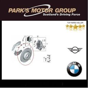 Genuine BMW Pair Front M Perforomance Brake Discs Drilled 370mm 34106797603