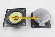 """2pcs 3""""inch 83mm Anti-magnetic Full-range speaker 8ohm 8Ω 20W Loudspeaker"""