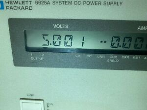 6625A HP SYSTEM DC POWER SUPPLY