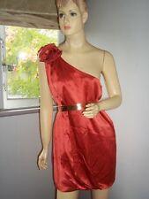 "NWT SASS & BIDE  ""Let Me In""  Stretch Silk-Twill One Shoulder Dress Sz 12 - $650"