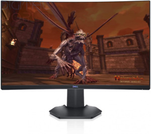 Dell S2721HGF 27 inch Full HD (1920x1080) Gaming Monitor, 1500R Curved Black