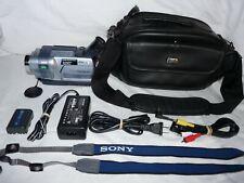 Sony DCR-TRV250 Digital8 Digital 8 Camcorder VCR Player Camera Video Transfer
