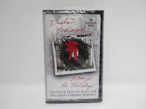 Trisha Yearwood Home For The Holidays 1997 Hallmark Cassette Tape Christmas NEW