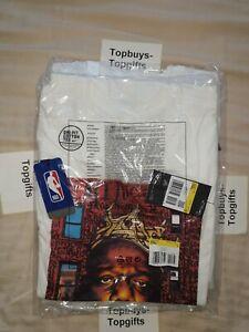 Nike Biggie Smalls B.I.G Brooklyn Nets Dri-FIT NBA T-Shirt Small Size CU1642-100