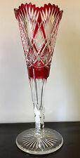 Vase du Val Saint Lambert , Hauteur de 36,5 cm