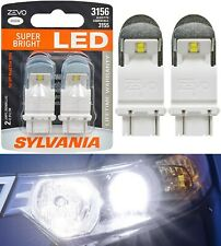 Sylvania ZEVO LED Light 3156 White 6000K Two Bulbs Front Turn Signal Replace OE