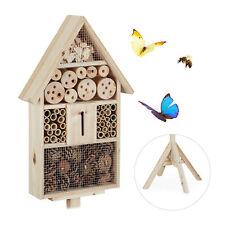 Insektenhotel Haus auf Ständer Bienenhotel Bienenhaus Insektenhaus Nisthilfe
