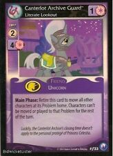 MY LITTLE PONY MLP CCG CANTERLOT NIGHTS : CANTERLOT ARCHIVE GUARD FOIL F23