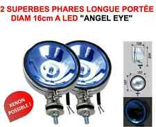 Angel Eye ! 2 phares 16cm avec cerclage LED RAID 4X4 HDJ KDJ PATROL LAND JEEP LJ