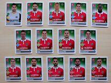 alle 14 Spielerbilder/Sticker Hannover 96 Topps Bundesliga Saison 2017/18