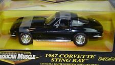 NOS ERTL 1967 CORVETTE Sting Ray American Muscle RARE 67 Stingray Black 427