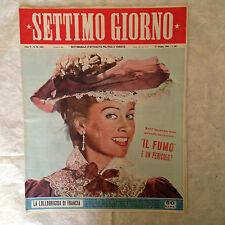 RIVISTA SETTIMO GIORNO 26 6/1953 MARTINE CAROL BUCKINGHAM PALACE LORENZO LOTTO