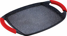 Bergner Red Stone Marble Grill Plate Griddle Pan Induction Grill Plate