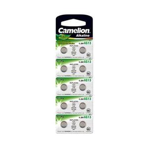Piles boutons AG 13 / LR44 / LR1154 / 357 -  Expédition rapide et gratuite