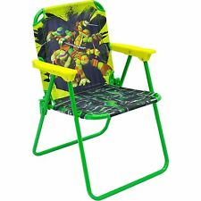 Teenage Mutant Ninja Turtles Kids Child Toddler Folding Patio Chair NEW!